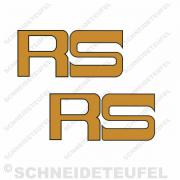 Kreidler Tankschriftzug RS Set