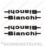 Bianchi Aufkleber Set