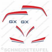 Hercules GX Aufkleberset